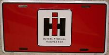Aluminum License Plate vehicle International Harvesters tractor NEW
