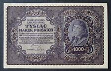 Poland - Pologne - Polska - Billet de 1000 Marek de 1919 SPL !!! #4