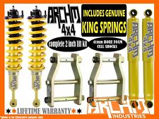 "ARCHM4X4/ COIL SPRING 2"" 50mm SUSPENSION LIFT KIT FOR TOYOTA HILUX KUN/GGN 05-ON"