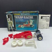 Micronauts Mego 1976 robot action figure vehicle complete Warp Racer race car