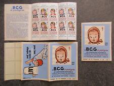 "France carnet timbres vignettes ""B C G"" 1966-1967 neuf ** TBE XY128"
