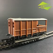 VINTAGE TRIANG R.124 LWB BRAKE VAN W.6297 CARRIAGE OO HO STOCK TRAIN