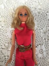 Vintage WALK LIVELY Barbie Doll With Original Tagged Outfit