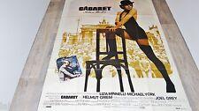 CABARET !  liza minnelli affiche cinema musique 1972