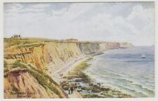 Sussex (East) postcard - Blackrock Cliffs, Brighton - ARQ No. 988