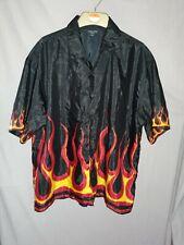 Vintage Xxl James Darby Flame Shirt