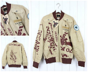 NEW VIVIENNE WESTWOOD ANGLOMANIA X LEE FLIGHT  BOMBER JACKET DENIM  #3 S SMALL
