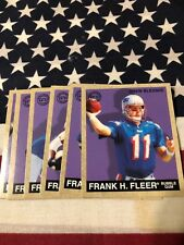 1997 Fleer Goudy New England Patriots Team Set With Drew Bledsoe
