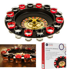 DRINKING ROULETTE PARTY SET SPIN SHOT STAG HEN GAME 16 GLASS GAMES ADULT CASINO