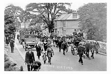 pt8119 - Conisbrough , Denaby Victims Funeral , Yorkshire - photograph 6x4