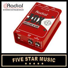 RADIAL JDX48 REACTOR ACTIVE GUITAR AMP DI DIRECT INPUT INJECTION BOX  NEW JDX 48