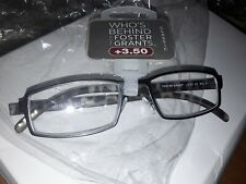 FOSTER GRANT READING GLASSES +3.50 NEW IN PACK