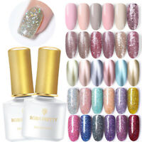 BORN PRETTY 6ml Smalto Gel UV per Unghie Paillettes Nail Gel Polish Glitterati