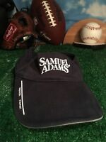 Sam Samuel Adams brewery patriot visor Hat Cap adjustable Strapback H45