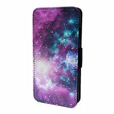 Pour Téléphone Portable Étui Rabattable Space Galaxy Stars - S4404