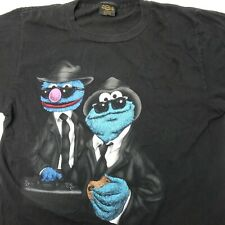 vintage 1990s Blue Brothers Jim Henson Cookie Monster / Grover Tshirt - Size L