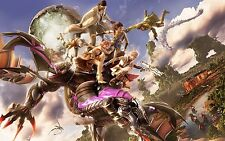 Final Fantasy 13 - Wall Poster 34 in x 22 in - Fast Shipping