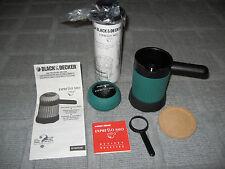 BLACK & DECKER EXPRESSO MIO Microwave Espresso Maker + EXPRESSO MIO Froth Maker