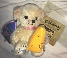 "Merrythought USA Exclusive Cheeky Little Mouse w Cheese English Mohair 6"" LE NEW"