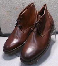 252022 PFBT40 Men's Shoes Size 11.5 M Dark Tan Lace Up Boots Johnston & Murphy