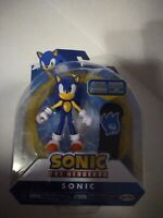 "Jakks Sonic The Hedgehog 4"" Sonic Figure with Snowboard NEW Sega"