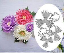 Chrysanthemum Daisy Flower Metal Cutting Dies Cuts Scrapbooking Embossing Craft