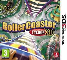 Rollercoaster Tycoon 3D Game Nintendo 3DS and 3DS XL PAL Brand New