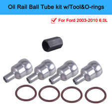 1 Kit Vehicle Oil Rail Ball Tube Repair kit Compatible with Ford 2003-2010  6.0L