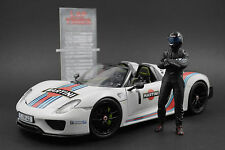 The black STIG (2) Figura per 1:18 Autoart Mercedes VERY RARE