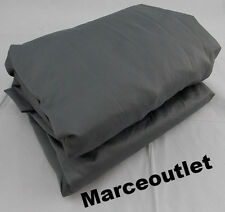 HOTEL COLLECTION 600 Thread Count Cotton QUEEN Fitted Sheet Charcoal Gray