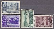 RUSSIA SU 1940 USED SC#780/83 Set, Timiryasev, scientist and professor of agric.