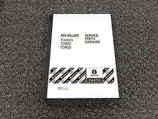 New Holland Td80d Td95d Tractor Parts Catalog Manual Pn 87649268