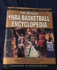 Julius Erving SIGNED AUTOGRAPHED Official NBA Encyclopedia New York Nets ABA
