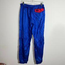 Vintage Columbia Pants Men's M Blue Water Resistant Camping Hiking Pants