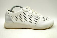 Dansko White Leather Casual Comfort Lace Up Sneakers Shoes Women's 40 / 9.5 - 10