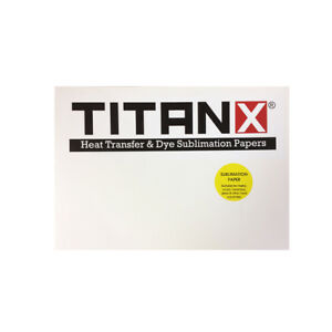 100 A4 Sheets Titan X® Sublimation Paper - Print Mugs, Coasters, Phone Cases etc