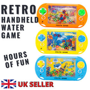 Water Game Handheld Classic Kids Fun Learning Toy Retro Game Puzzle Great Gift