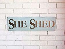 She Shed, She Shed Sign, Potting Shed Sign, She Shed Door Sign, Gift for Her