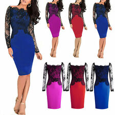 Long Sleeve Stretch, Bodycon Floral Petite Dresses for Women
