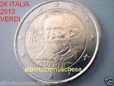 2 euro 2013 ITALIA 200 anni nascita Giuseppe VERDI italie italy italien Италия