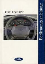 FORD ESCORT CABRIO Betriebsanleitung 1994 Bedienungsanleitung Handbuch MK6  BA
