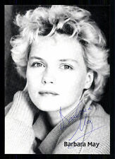 Barbara May AUTOGRAFO carta firmato ORIGINALE TOP # BC 455