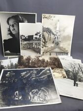 Collection of Vintage 1940's Large Format Photographs by Harry J. Rudick 11x14