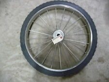 Slightly used Giant Vac High Wheel Part # 33041 For Lawn & Garden Equipment