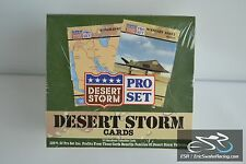Pro Set Desert Storm Trading Cards Box Sealed In Package Vintage