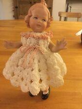 "Gerbruder Heubach Coquette Bisque Porcelain Repro Doll 10490 - 3. 8"""