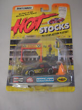 Matchbox Hot Stocks Pit Stop Action Playset Car #4 1991