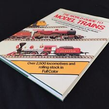 Collectors, WORLD GUIDE TO MODEL TRAINS, McHoy, 1983, Probable 1st Ed, Like New