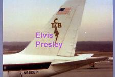 ELVIS PRESLEY LISA MARIE PLANE TCB LOGO ATLANTA GA 3/10/79 VINTAGE PHOTO CANDID