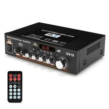 G919 Mini Amplificador Audio Bluetooth Stereo Power Amplifier FM